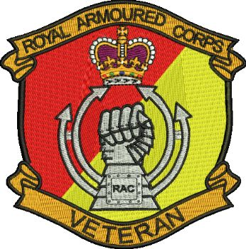 Royal Armoured Corp Badge